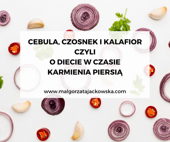 dieta w czasie karmienia piersią Małgorzata Jackowska