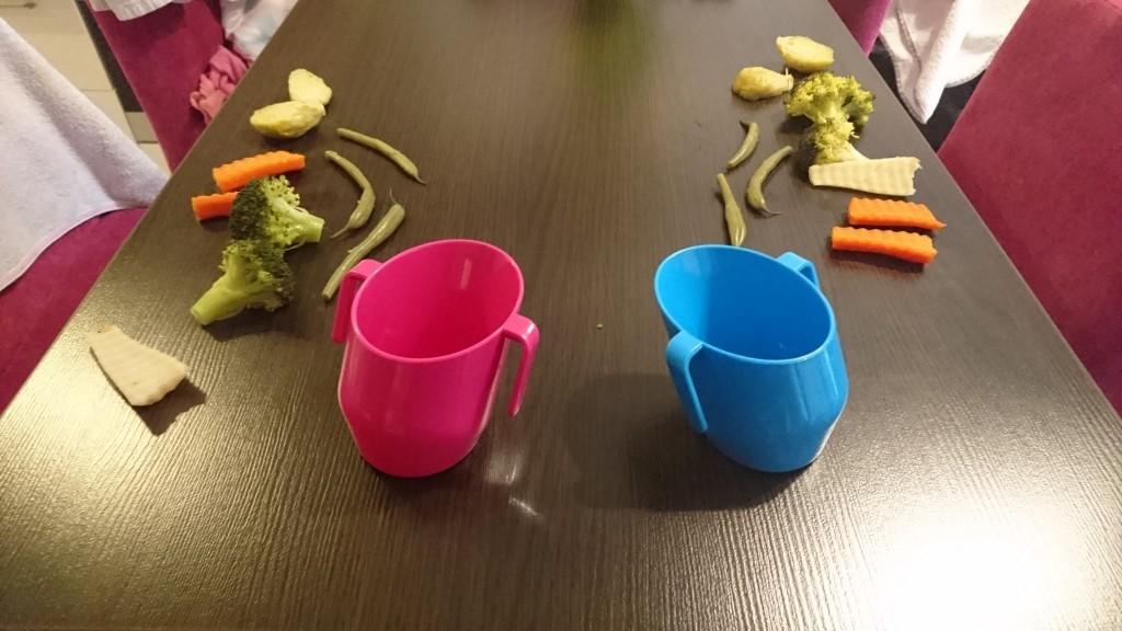 BLW bliźniaków stół