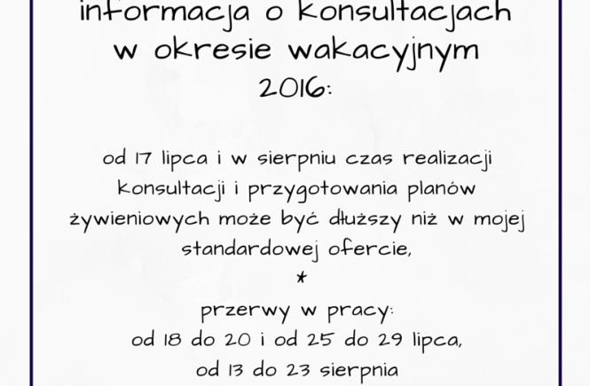 oferta małgorzata jackowska wakacje 2016