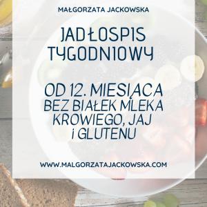 jadłospis dla alergika od 12 miesiąca życia PDF Małgorzata Jackowska
