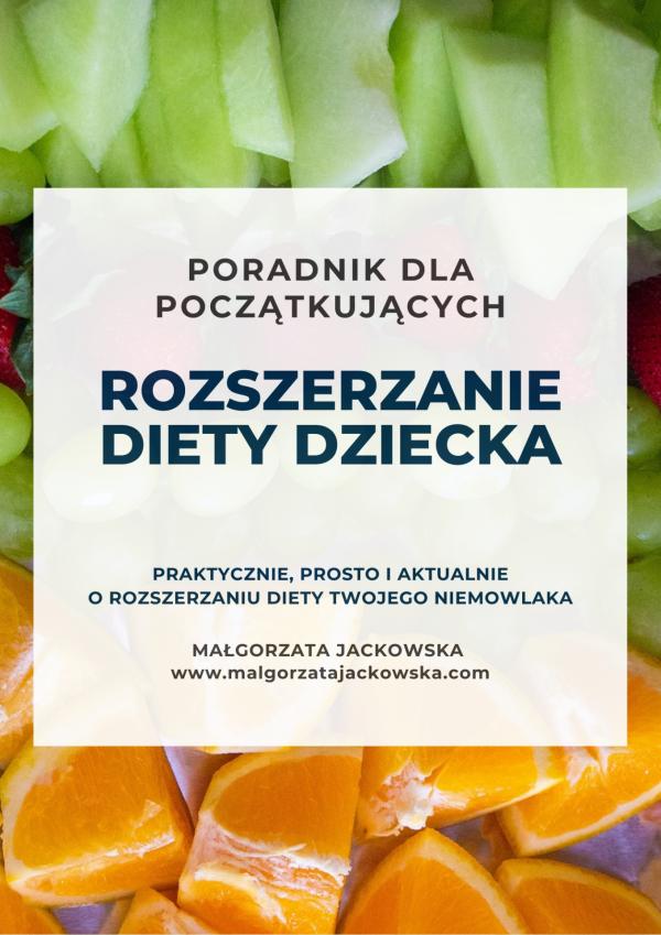 poradnik rozszerzanie diety Małgorzata Jackowska okładka