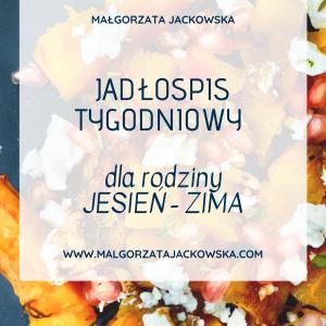jadłospis zimowy dla rodziny Małgorzata jackowska okładka