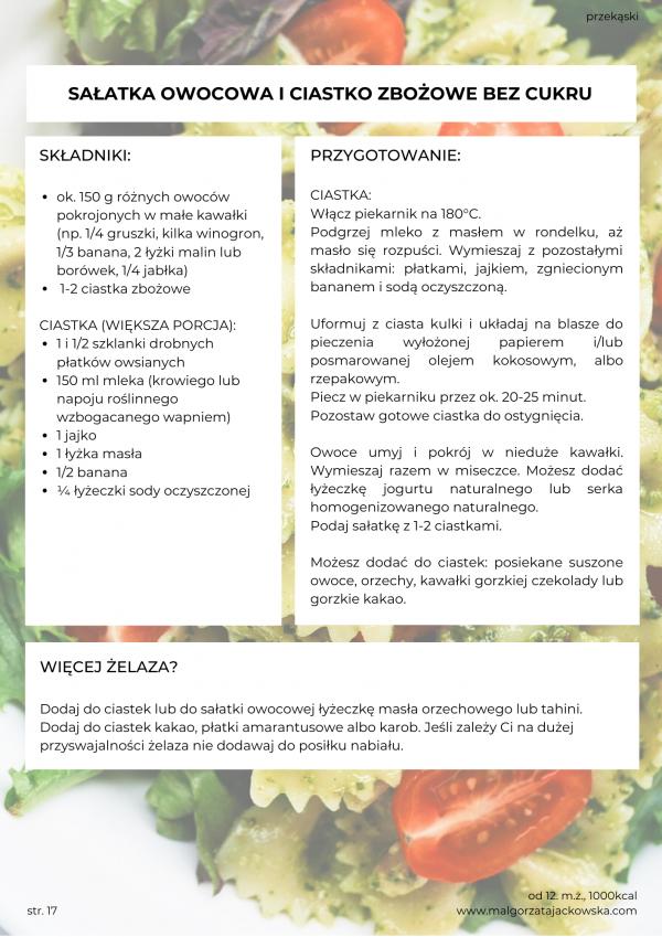 jadłospis od 12 miesiąca dla małego dziecka Małgorzata Jackowska