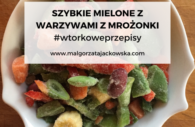 #wtorkoweprzepisy Mielone z warzywami