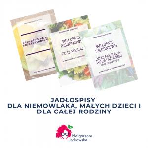 jadłospisy dla dzieci i rodziny Małgorzata Jackowska