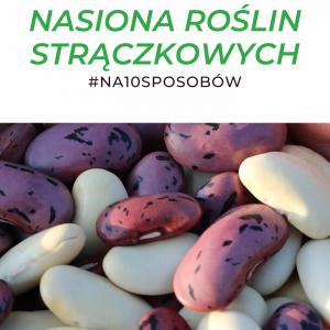 okładka ebooka strączkowe #na10sposobów Małgorzata Jackowska i Be Strąk