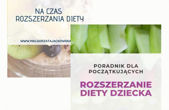 ebooki na czas rozszerzania diety zestaw Małgorzata Jackowska